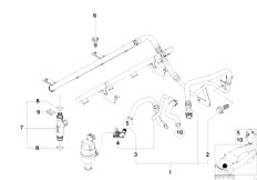 Fuel Injection System Injection Valve 3