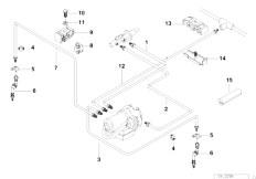 original parts for e36 318ti m44 compact brakes brake. Black Bedroom Furniture Sets. Home Design Ideas