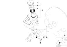 E46 316ti N42 Compact / Brakes/  Brake Master Cylinder