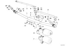 Single Parts For Head L  Cleaning likewise Bmw Wiring Diagrams E53 additionally  on e36 trunk wiring harness repair