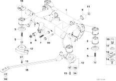 Original Parts for E39    M5    S62 Sedan  Rear Axle Differential Drive Output  eStoreCentral