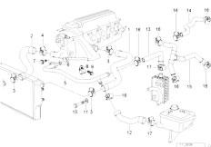 original parts for e36 318tds m41 compact    engine   timing