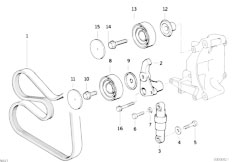 Bmw 316i Belt Diagram