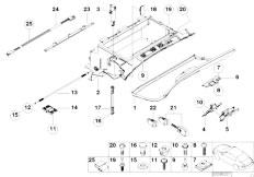 E46 330Ci M54 Coupe / Vehicle Trim/  Glove Box