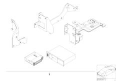 E46 316ti N42 Compact / Audio Navigation Electronic Systems/  Retrofit Kit Cd Changer