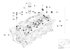 E46 316ti N42 Compact / Engine/  Cylinder Head