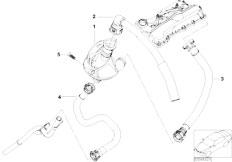 E46 316ti N42 Compact / Engine/  Crankcase Ventilation Oil Separator