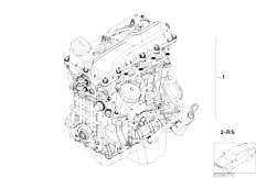E46 316ti N42 Compact / Engine/  Short Engine