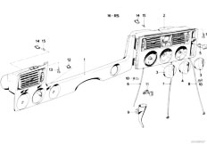 E21 316 M10 Sedan / Heater And Air Conditioning/  Heater Control