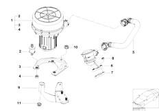 E46 316ti N42 Compact / Engine/  Emission Control Air Pump-2