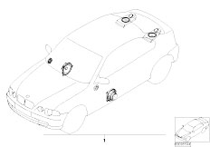 E46 316ti N42 Compact / Audio Navigation Electronic Systems/  Bmw Sound Module
