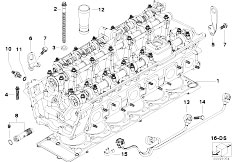 31336779612 together with 51167001461 further 24117552108 together with Radiator Support Genuine 79 moreover 13627566987. on bmw n73 engine
